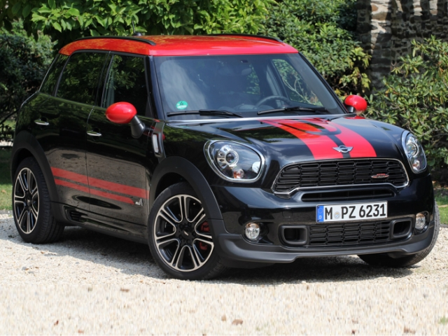 Mini Countryman John Cooper Works All4 (2013) Фото 1